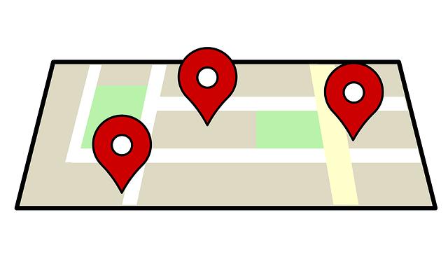 maps listings